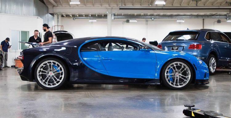 Bugatti Chiron met Vossen-velgen