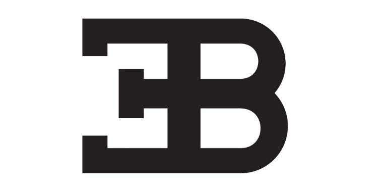 Bugatti EB logo