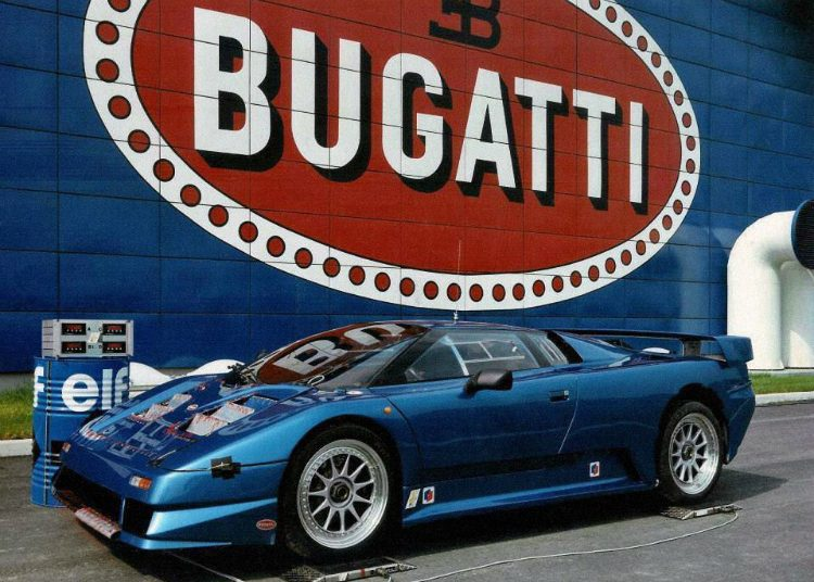 Bugatti EB110 Prototype '91