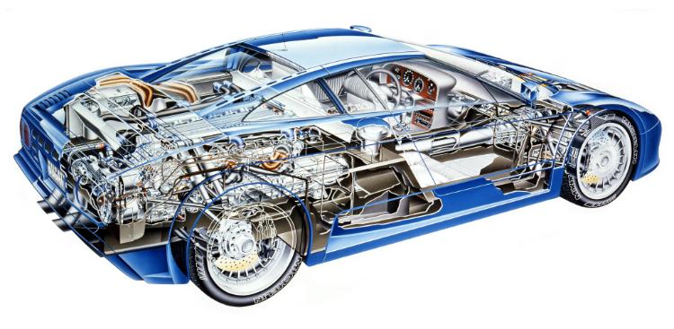 Bugatti EB110 GT '91