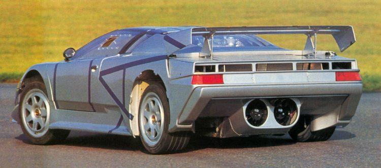 Bugatti EB110 prototype 0001