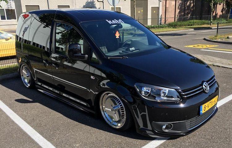 9 bizarre Volkswagen Caddy's op Nederlands kenteken