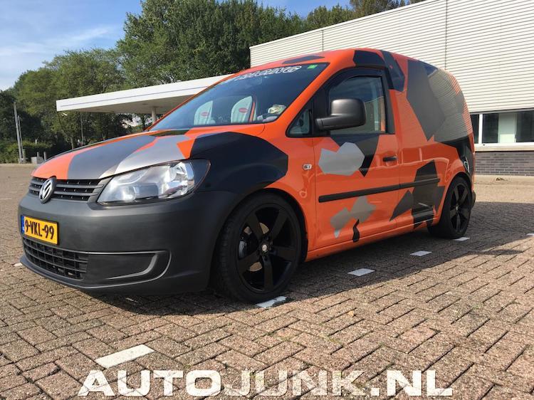 10 bizarre Volkswagen Caddy's op Nederlands kenteken