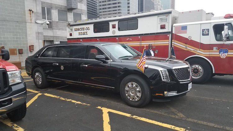 Dit is de nieuwe auto van Donald Trump