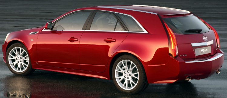 Cadillac CTS Sport Wagon 3.6 AWD Sport Luxury '10