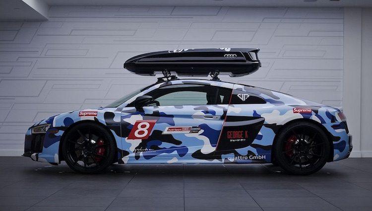 Deze 'Jon Olsson' Audi R8 kan niet door de beugel
