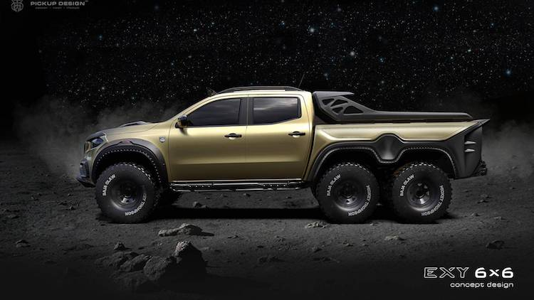 Dit is de Mercedes X-Klasse Exy 6x6