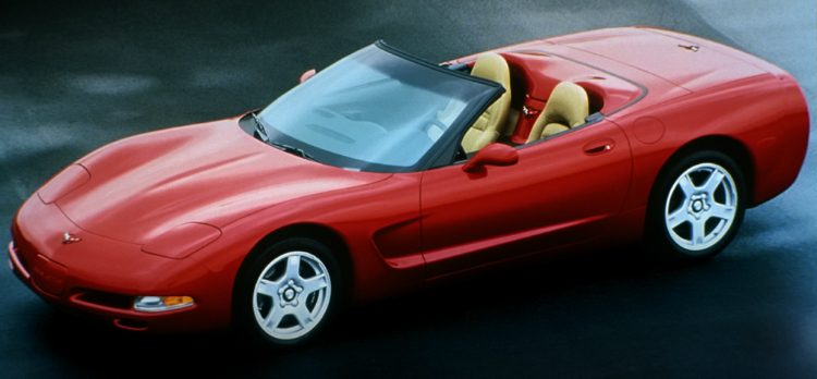Chevrolet Corvette Convertible (C5) '98