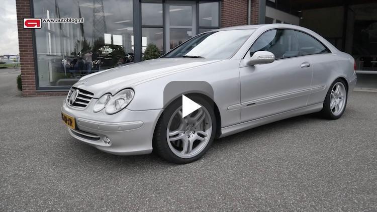 Mijn auto: Mercedes CLK500 van Antoon