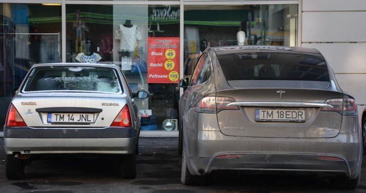 Dacia vs Tesla