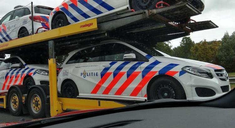 Nederlandse politie hekelt nieuwe Mercedes B-Klasse