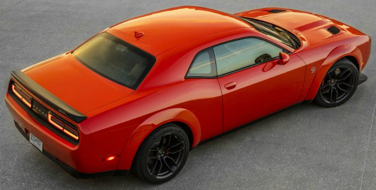 Dodge Challenger SRT Hellcat Widebody (LC) '18
