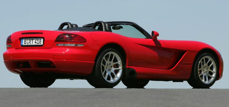 Dodge Viper SRT-10 Convertible '06