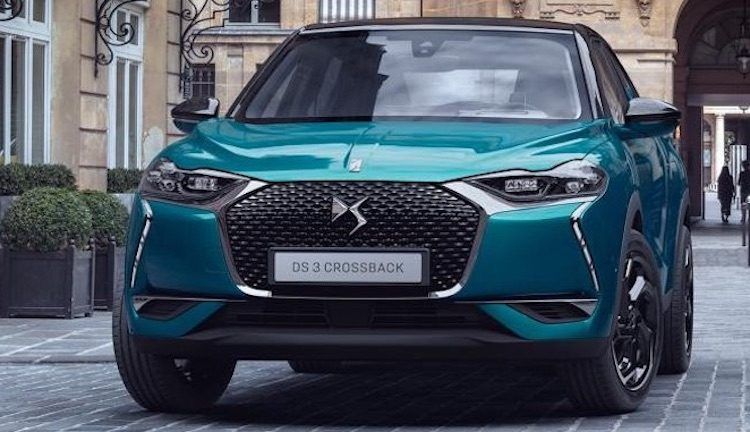 Nieuwe DS 3 Crossback in volle glorie gelekt