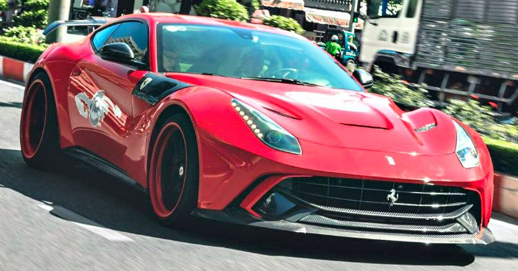 Duke Dynamics F12berlinetta '18