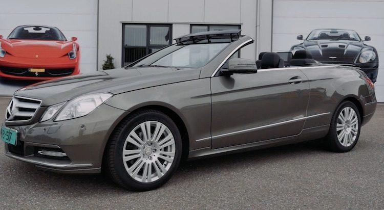 Mercedes E-klasse Coupé/Cabrio