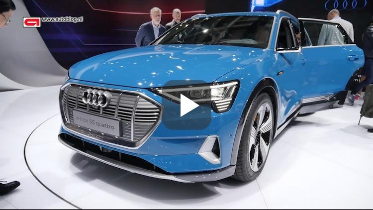 Autoblog video: dit is de Audi e-tron van dichtbij
