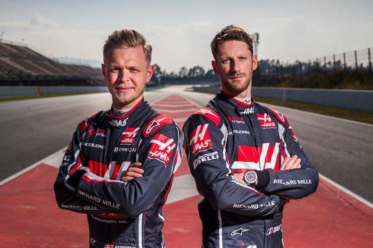 Dit zijn de coureurs voor Haas F1 Team in 2019