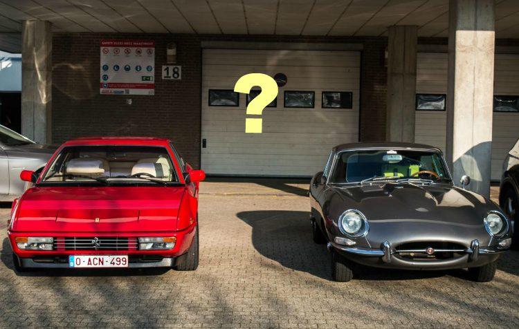 Ferrari Mondial - Jaguar E-Type