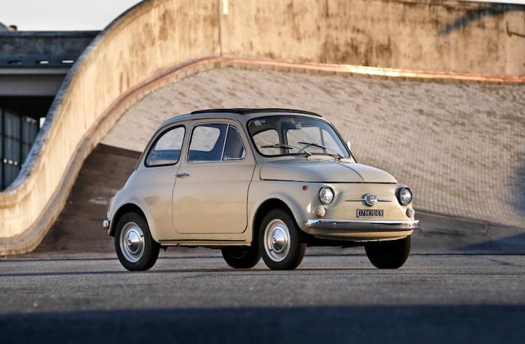 De Fiat 500 is nu officieel kunst