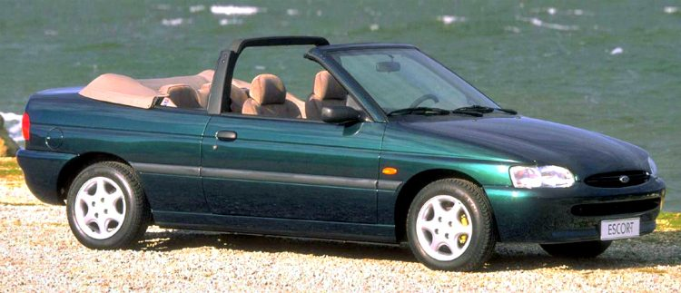 Ford Escort Cabriolet 1.8 TD Pacific '97