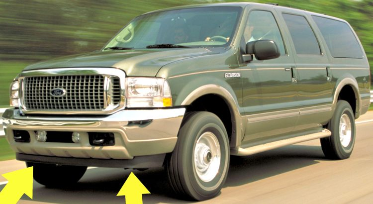 Ford Excursion Limited '00