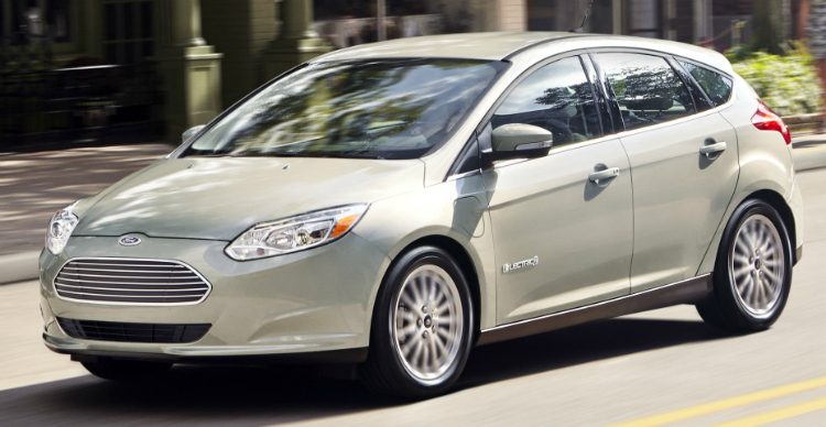 Ford Focus Electric (DYB) '14