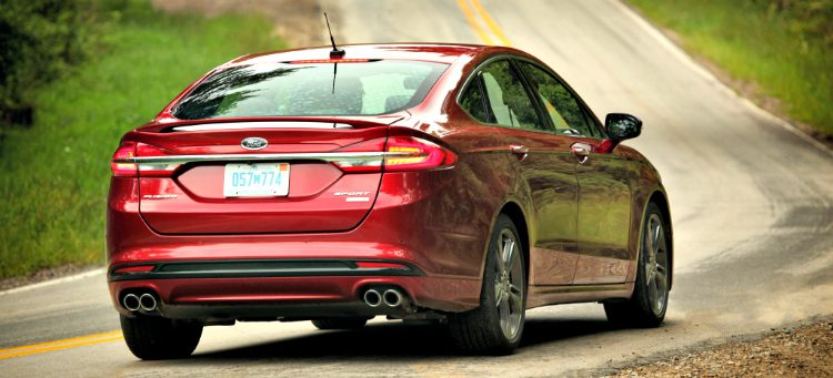 Ford Fusion Sport '16