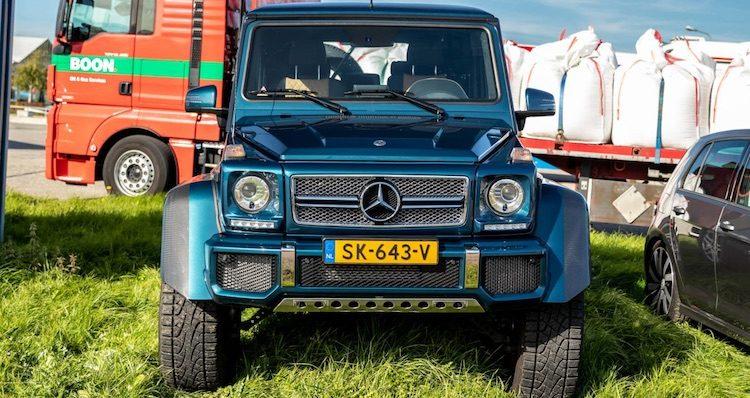 7x prijzige Mercedes G-klasse op Nederlands kenteken