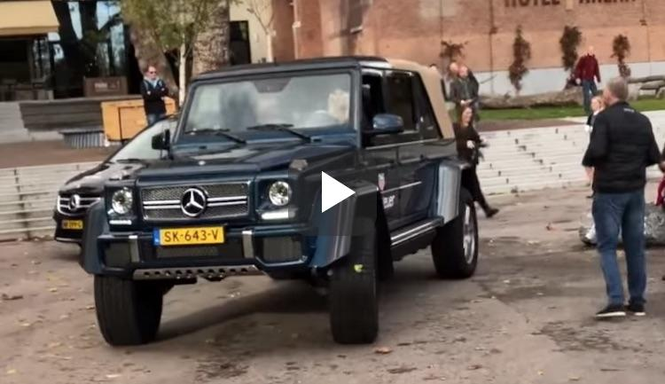 Video: blondine neemt Max mee in G650 Landaulet