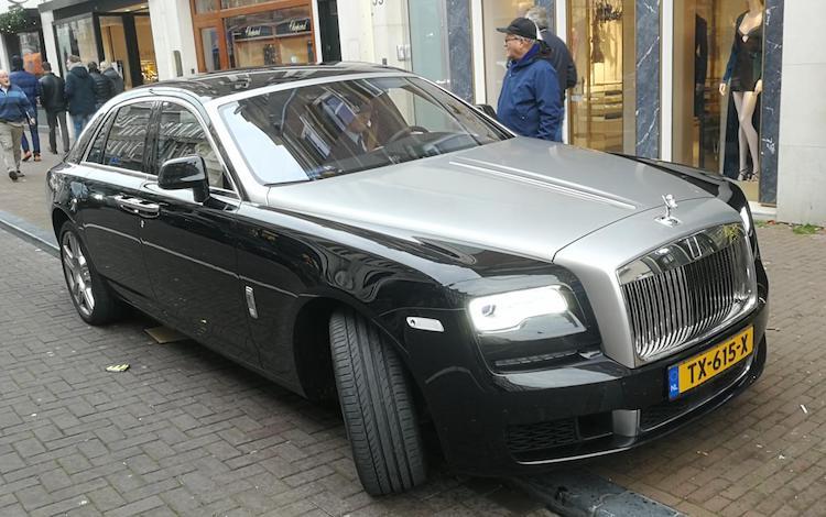 Gespot: deze Rolls-Royce Ghost kost 458.000 euro