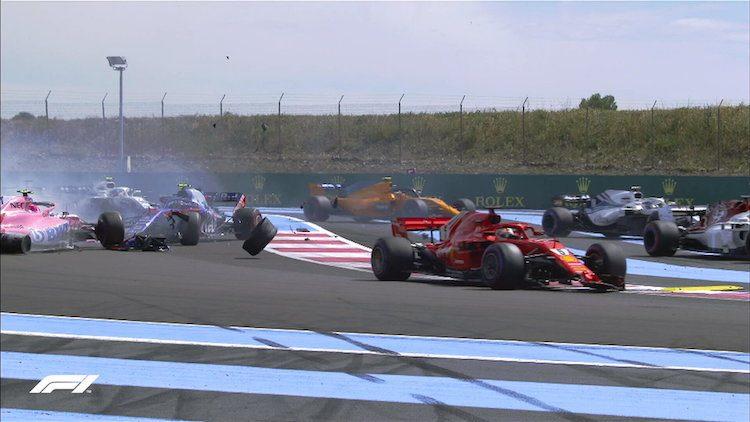 Uitslag Formule 1: Grand Prix van Frankrijk 2018