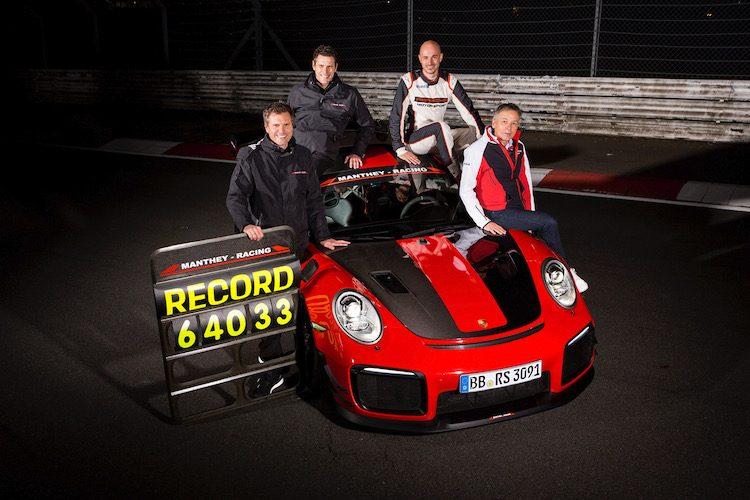 Porsche 911 GT2 RS MR plaagt Lamborghini-record