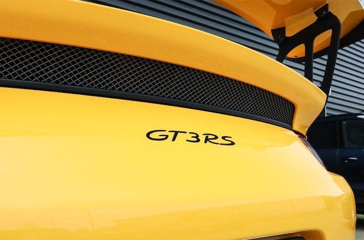 Deze 911 GT3 RS in Limburg heeft een bijzondere kleur