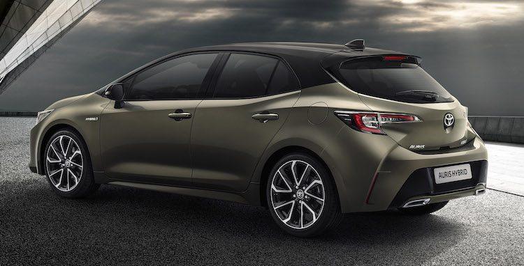 Hé, het is de nieuwe Toyota Auris