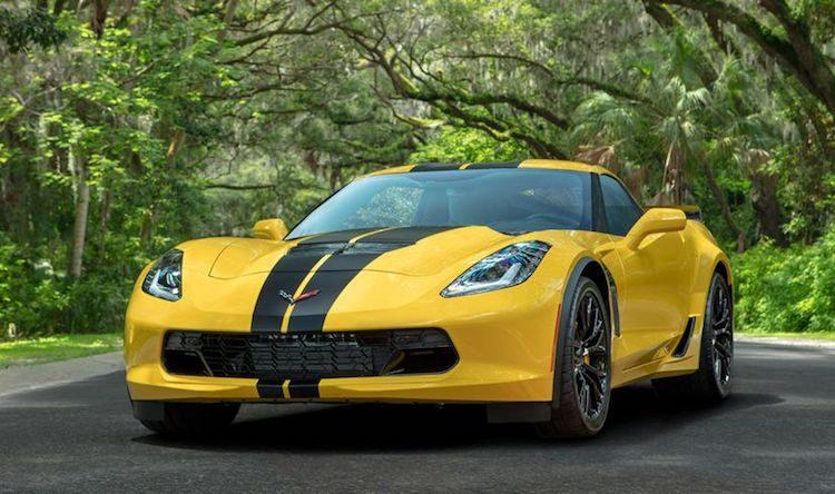 Autoverhuurbedrijf krijgt speciale Corvette Z06 voor 100-jarig jubileum