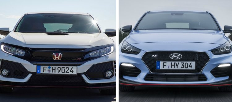 Honda Civic Type-R - Hyundai i30 N2 Performance
