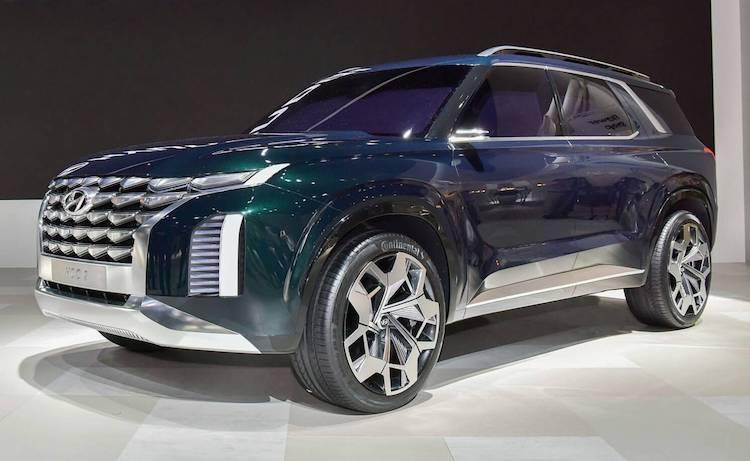 Hyundai's nieuwe, grote SUV lekt vroegtijdig uit