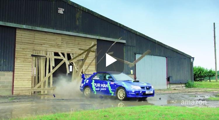 Video: Jeremy Clarkson treed in voetsporen van Ken Block