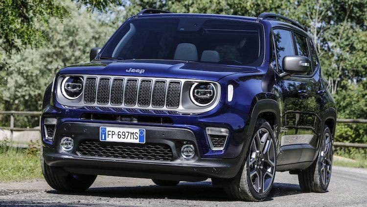 Zelfs Jeep had geen zin in de Renegade facelift