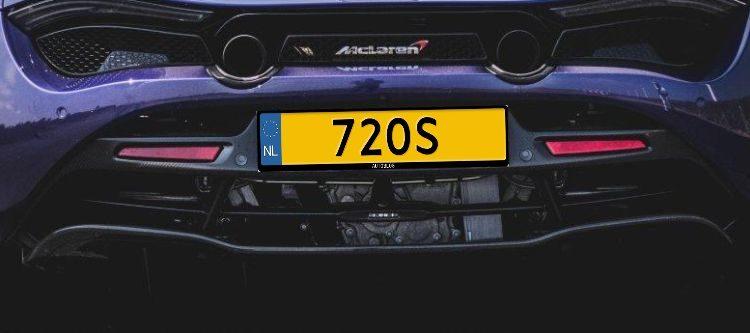 Kenteken 720S