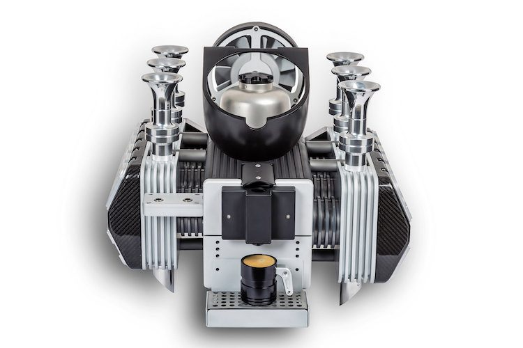 Zet de lekkerste koffie met deze Porsche flat-six