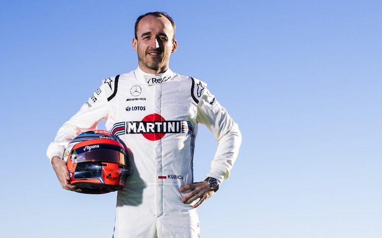 'Robert Kubica terug in de Formule 1'