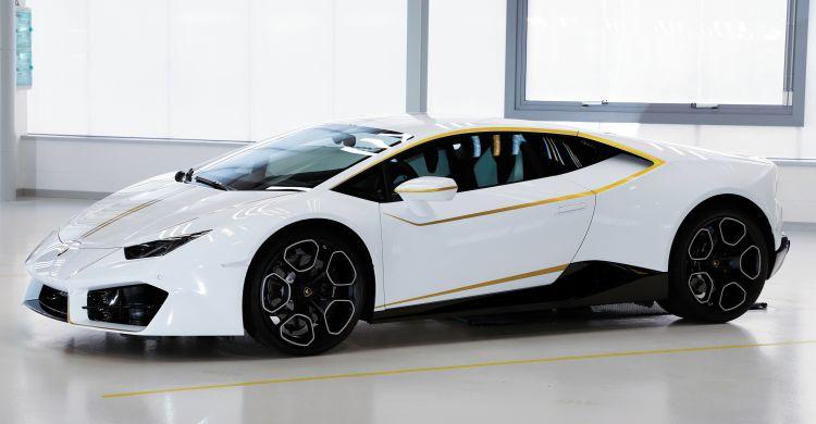 Lamborghini Huracan van Paus Franciscus