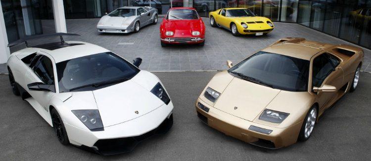 Lamborghini model range
