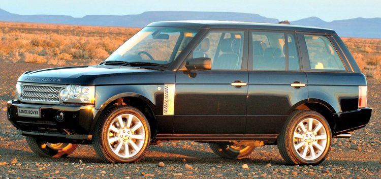 Land Rover Range Rover Supercharged (L322) '06
