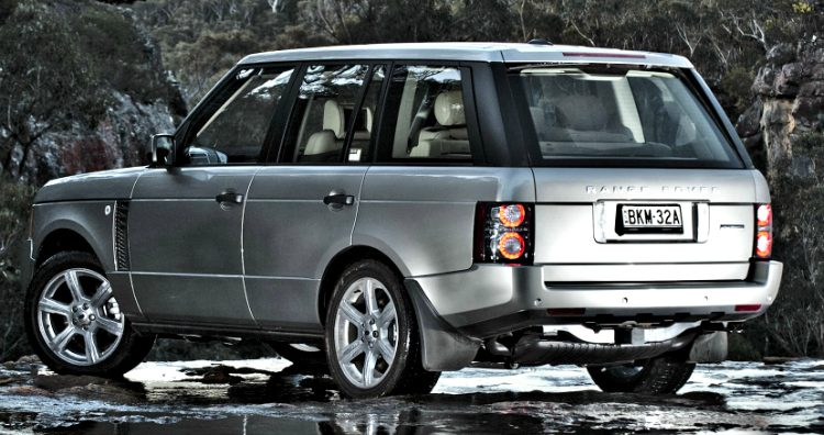 Land Rover Range Rover Supercharged (L322) '09