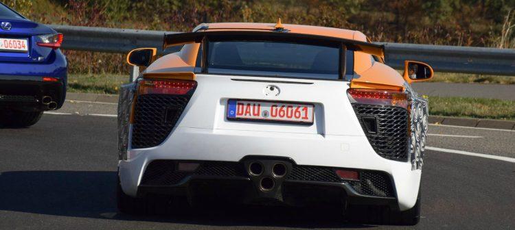 Lexus LF-A Nurburgring '19