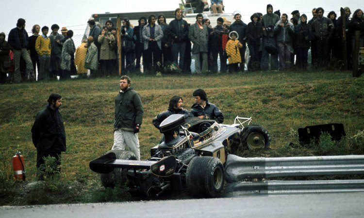 Crash Ronnie Peterson