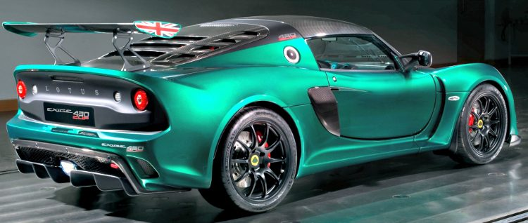 Lotus Exige S3 Cupe 430
